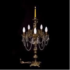Настольная лампа бронзовая  №2 (5 ламп)